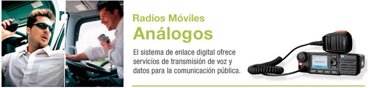 radios móviles analogos