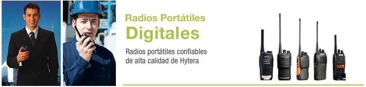 radios portatiles digitales
